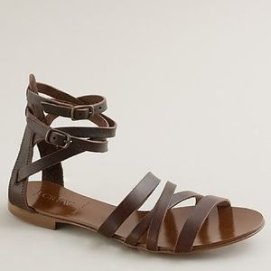 J.Crew Deseree Leather Gladiator